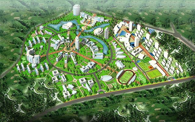 khu siêu đô thị vệ tinh hòa lạc